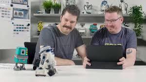 Lego Star Wars Designer Videos Lego Star Wars Boost Droid Commander Set Designer Video 75253