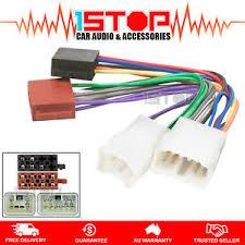 iso wiring harness for toyota landcruiser 80 100 200 series cable image is loading iso wiring harness for toyota landcruiser 80 100