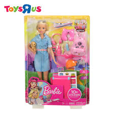 barbie travel barbie lead doll