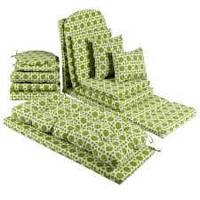 green outdoor chair cushions. seat cushion in green and white good outdoor ideas. full size of chair cushions