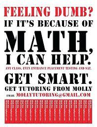 Tutoring Flyer Template Free Math School Ad Templates