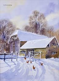 Painting Watercolor Snow Scenes Artistsclub Com