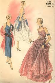 1950s Dress Patterns Mesmerizing Vintage Uncut 48S Halter Evening Dress Pattern Size 48 Advance