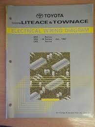 toyota liteace townace electrical wiring diagram manual 220449731