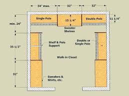 walk in closet dimensions inst insting minimum meters layout