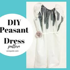 Peasant Dress Pattern Extraordinary Make A Pretty PEASANT DRESSFree DIY Sewing Pattern Sew Guide