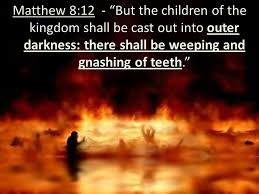 Image result for matthew 8:12