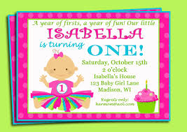 First Birthday Invitations Free Printable Free Printable 1st Birthday Invitations Free Invitation