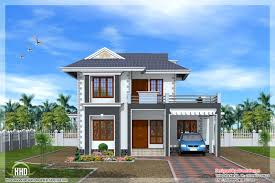 Astounding Flat Roof Homes Designs Flat Roof House Kerala Home - Green home design