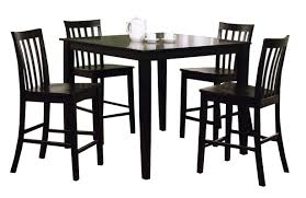 Black Counter Height Dining Table Set 150231blk Savvy Discount