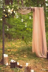 creative wedding arch ideas with fls manson jar lights and dry