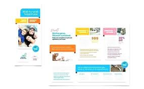 Leaflet On Word Brochure Word Templates For Carpet Cleaning Leaflet