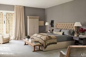 gray wall color for bedroom. design-savvy stars ellen degeneres and portia de rossi created a lively, art- gray wall color for bedroom e
