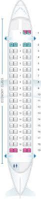 Seat Map Indigo Atr 72 Seatmaestro