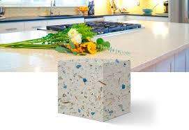 manufacture of recycled glass counters recycle materiaux