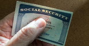 your social security card is lost or stolen
