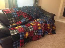 Flannel and denim rag quilt | Sewing | Pinterest | Rag quilt ... & Flannel and denim rag quilt Adamdwight.com