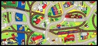 road play rug kids rugs with roads area mats carpets carpet home improvement
