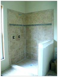shower walls building a shower no door shower building with small tiles floor and large building shower building ceramic tile shower stall putting