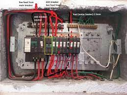 Single phase distribution board wiring diagram english. How To Wire A Db Board In South Africa Board Poster