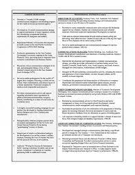 Resume Example Museum Director Sample Examples Executive Senior