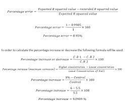 percent error eqn