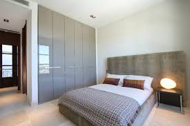 contemporary built in closet