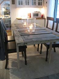 old door dining table home