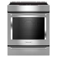 30 inch induction range. Perfect Induction KitchenAid 71cu Ft Slidein Induction Range Stainless Steel Common To 30 Inch