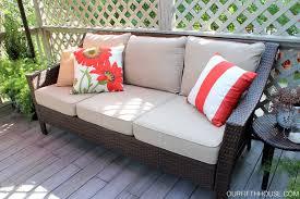 patio furniture design ideas. Magnificent Images Of Patio Furniture Design : Inspiring Outdoor Living Room Decoration Using Black Wicker Ideas G