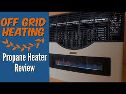off grid heating martin propane heater