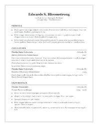 Free Resume Template Word – Markedwardsteen.com