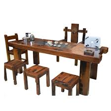 ship wood furniture. The Old Ship Wood Furniture Solid Antique Kung Fu Tea Table Combination Chinese Ta-in Coffee Tables From E