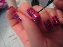 How To Do Nail Art At Home Pleasing Nail Designs Home - Home ...