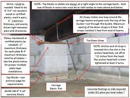 where to find help with mobile home anchors repairs