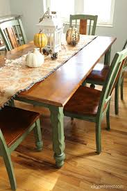 how to update a table with chalk paint