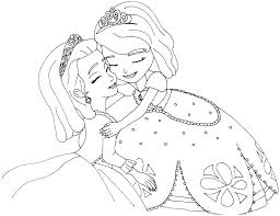 Princess Sofia Printable Coloring Pages Coloring Pages Of The First