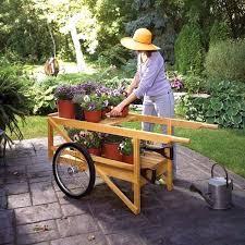 wooden garden cart kit