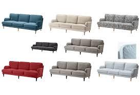 details about ikea stocksund 3 5 sofa cover slipcover nolhaga ljungen hovsten remvallen
