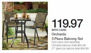 Patio Sale at Kroger