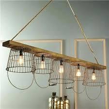 hanging basket chandelier wire