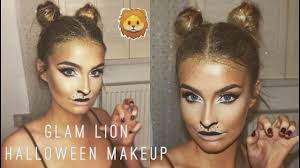 easy lion makeup hair tutorial 2016 aoife conway you