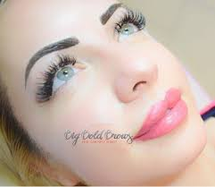 photo of big bold brows microblading permanent makeup houston tx united states