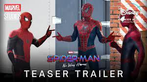 SPIDER-MAN: NO WAY HOME (2021) Teaser ...