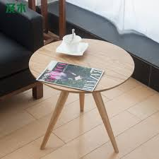 modern coffee tables and wood furniture creative modern mini scandinavian solid round side tables table