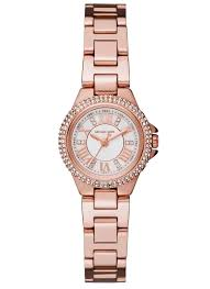 Michael Kors Watch Size Chart Michael Kors Mk3654 Womens Petite Camille Three Hand Watch