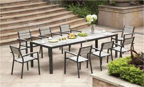 dining table and chairs new design outdoor wood dining sets luxury lush poly patio dining table