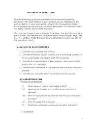 Business Plan Outline Templates At Allbusinesstemplates Com