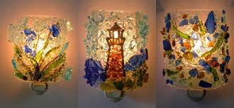 recycled glass lighting. recycled nightlights glass lighting g