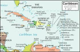 Caribbean Islands Comparison Chart Caribbean Islands Map And Satellite Image